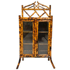 Victorian Bamboo Cabinet