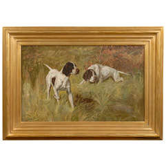 Painting of Sporting Dogs