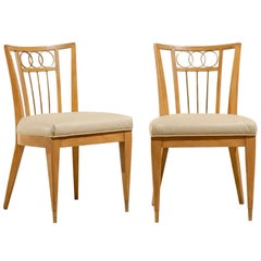 Set of Four (4) Chairs in the Style of Michael Taylor