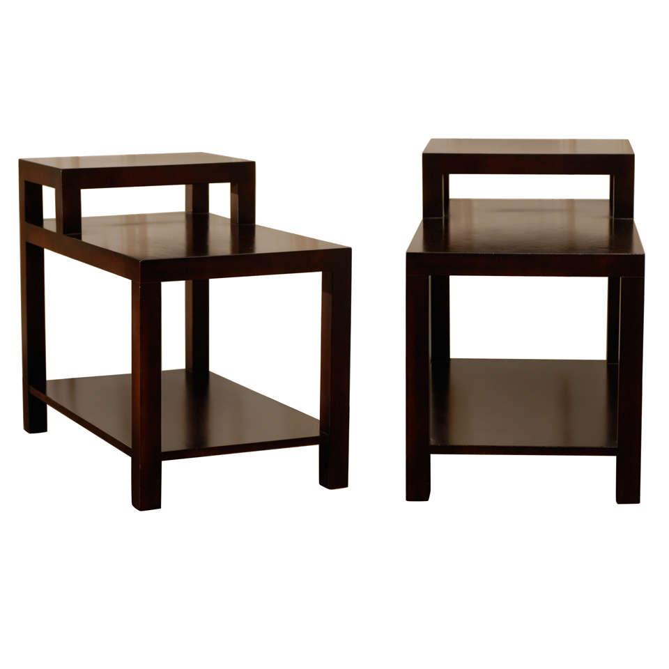 Pair of Step Tables by T. H. Robsjohn--Gibbings for Widdicomb