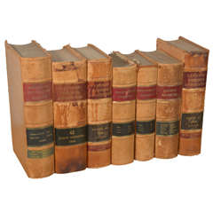 Northeastern Reporter & Lawyers Reports 1898-1906, Set of 7 Antique Books