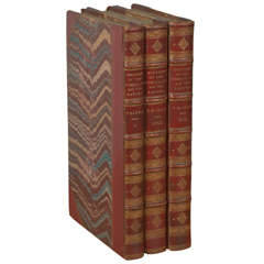 """""""History of The Consulate & The Empire"""" Set of 3 Antique Books on Napoleon"""