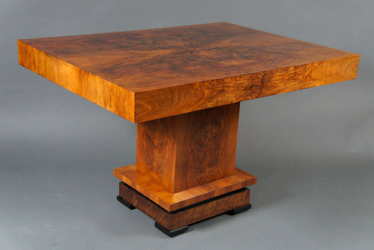 Deco 1930's Wood Table 2