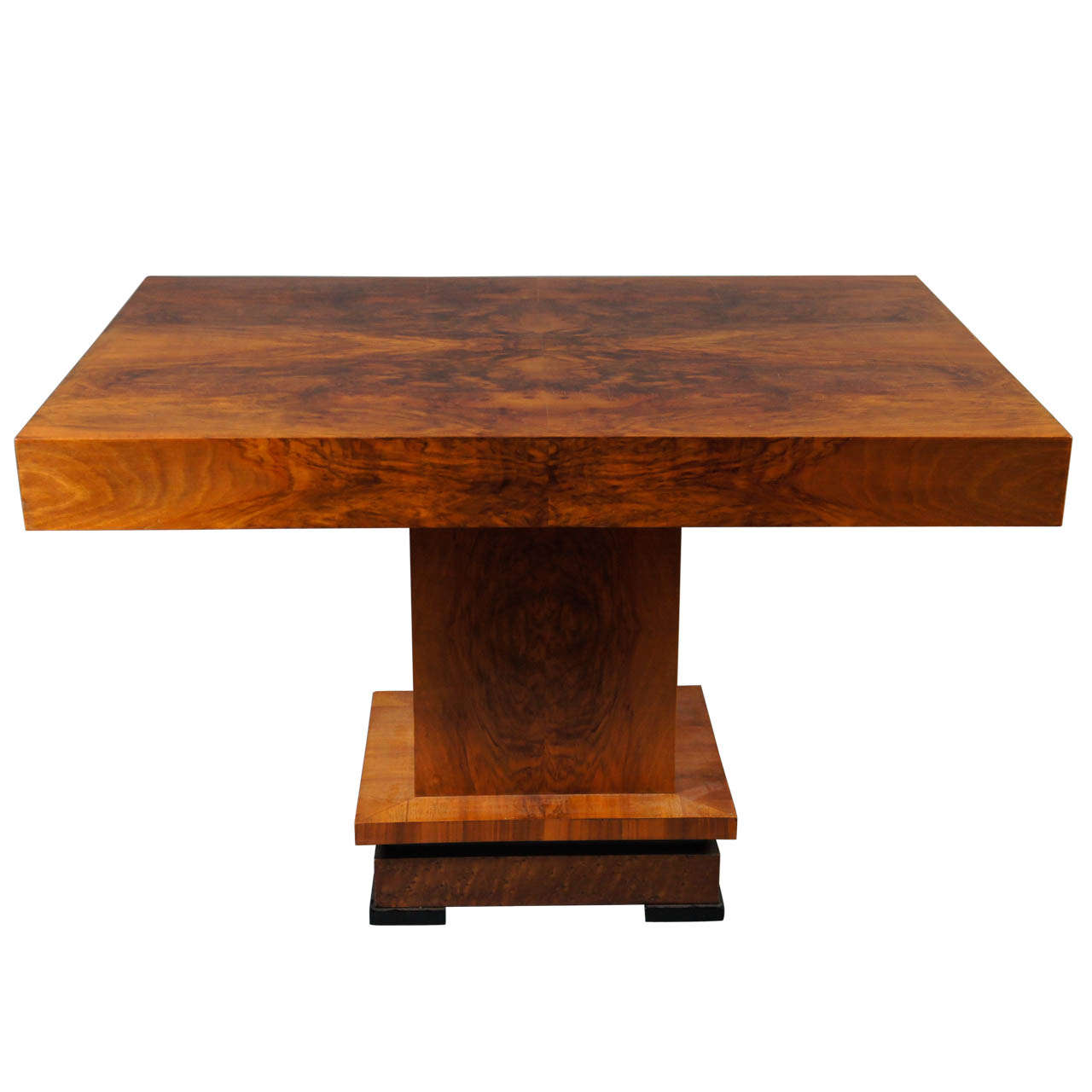 Deco 1930's Wood Table 1