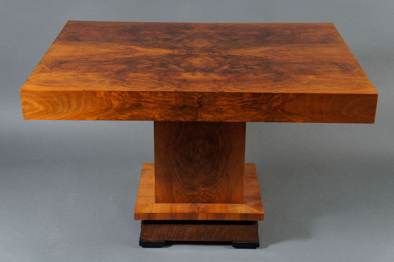 Deco 1930's Wood Table 3