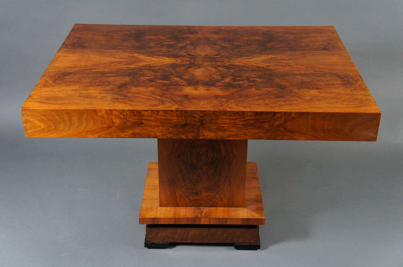 Deco 1930's Wood Table 4