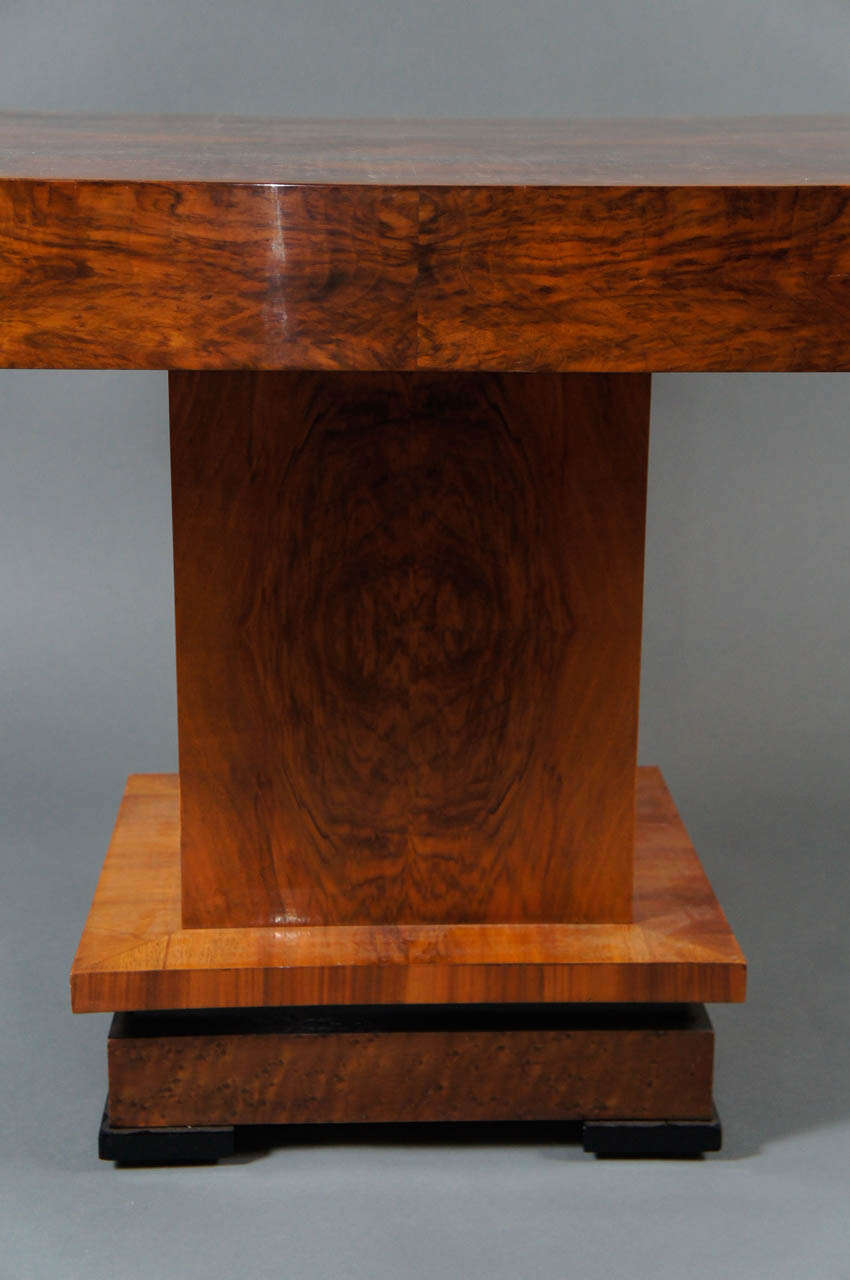 Deco 1930's Wood Table 5