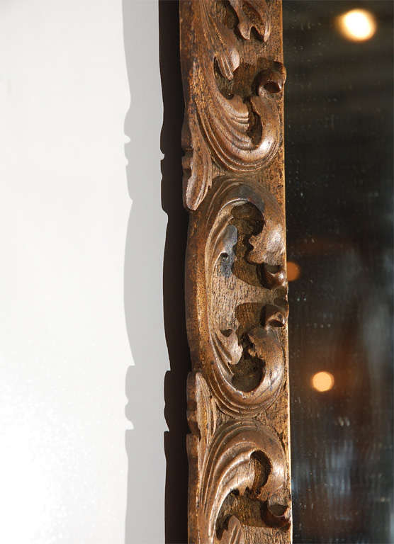 Detailed Wood Mirror 3