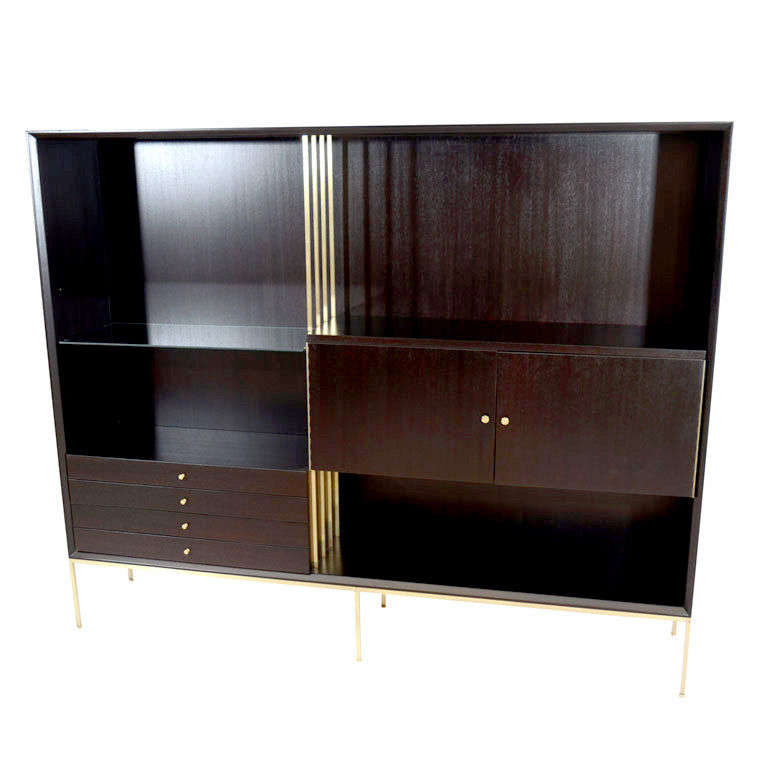 Paul Mccobb Room Divider Wall Unit For Sale At 1stdibs