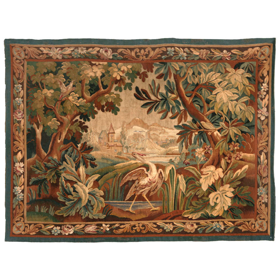 Antique European Tapestry at 1stdibs
