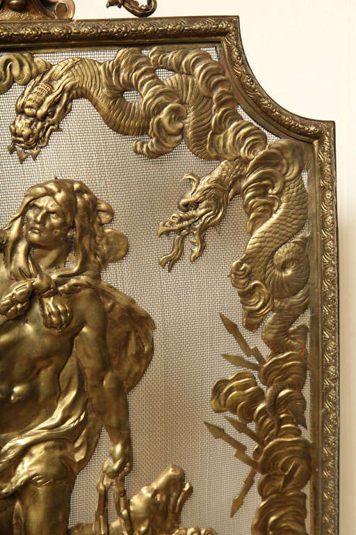 1900 hair styles bronze dore screen for at 1stdibs 2329