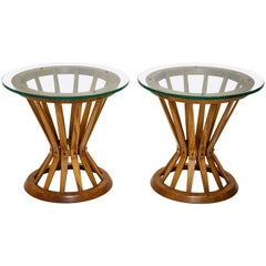 "Dunbar ""Sheaf of Wheat"" Side Tables by Edward Wormley"