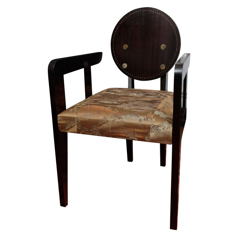 Armchair or Desk Chair in the Manner of Andre Sornay