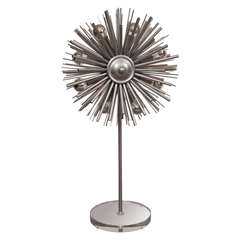 Custom Designers Original Supernova Lamp by Lou Blass, with 8 Lights