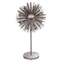 Custom Designers Original Supernova Lamp by Lou Blass, with 8 Lights