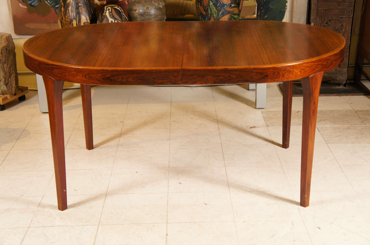 oval danish modern dining table at 1stdibs