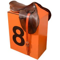 """""""Hermes Saddle Stool,"""" by Dylan Egon"""
