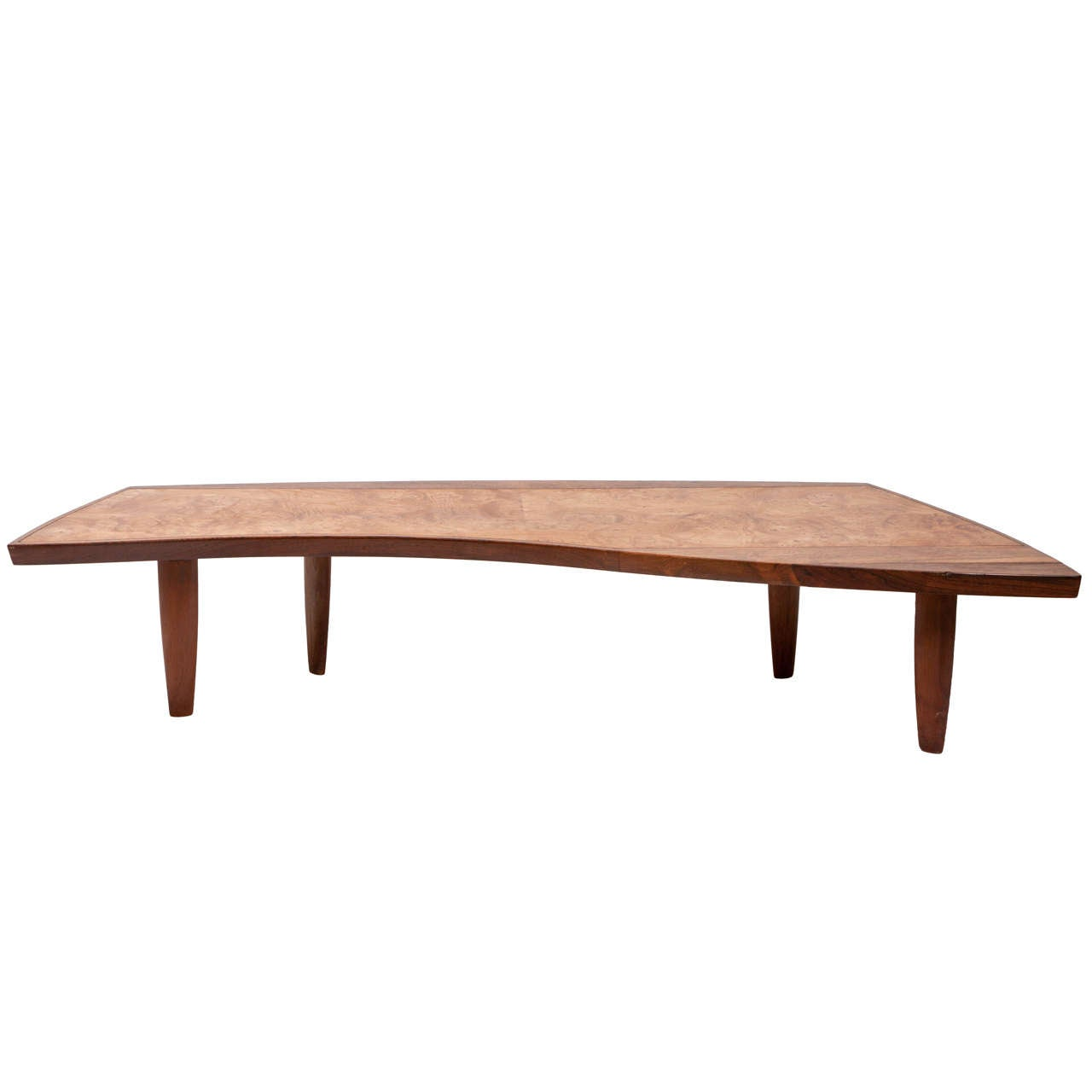 Large Coffee Table By George Nakashima For Widdicomb At 1stdibs