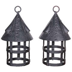Arts and Crafts Hanging Lanterns