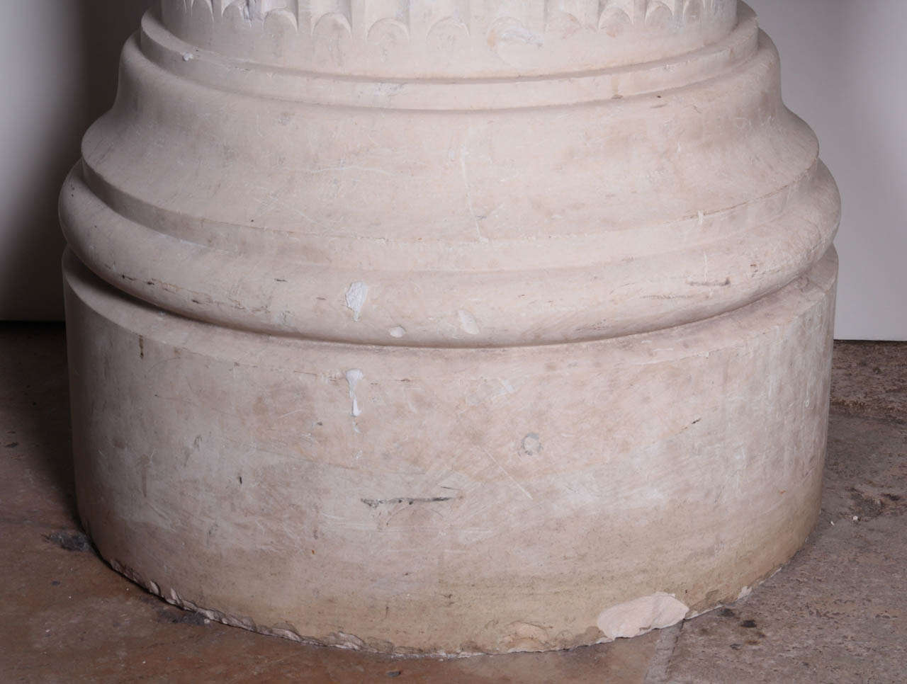 20th Century French Marble Pedestal For Sale