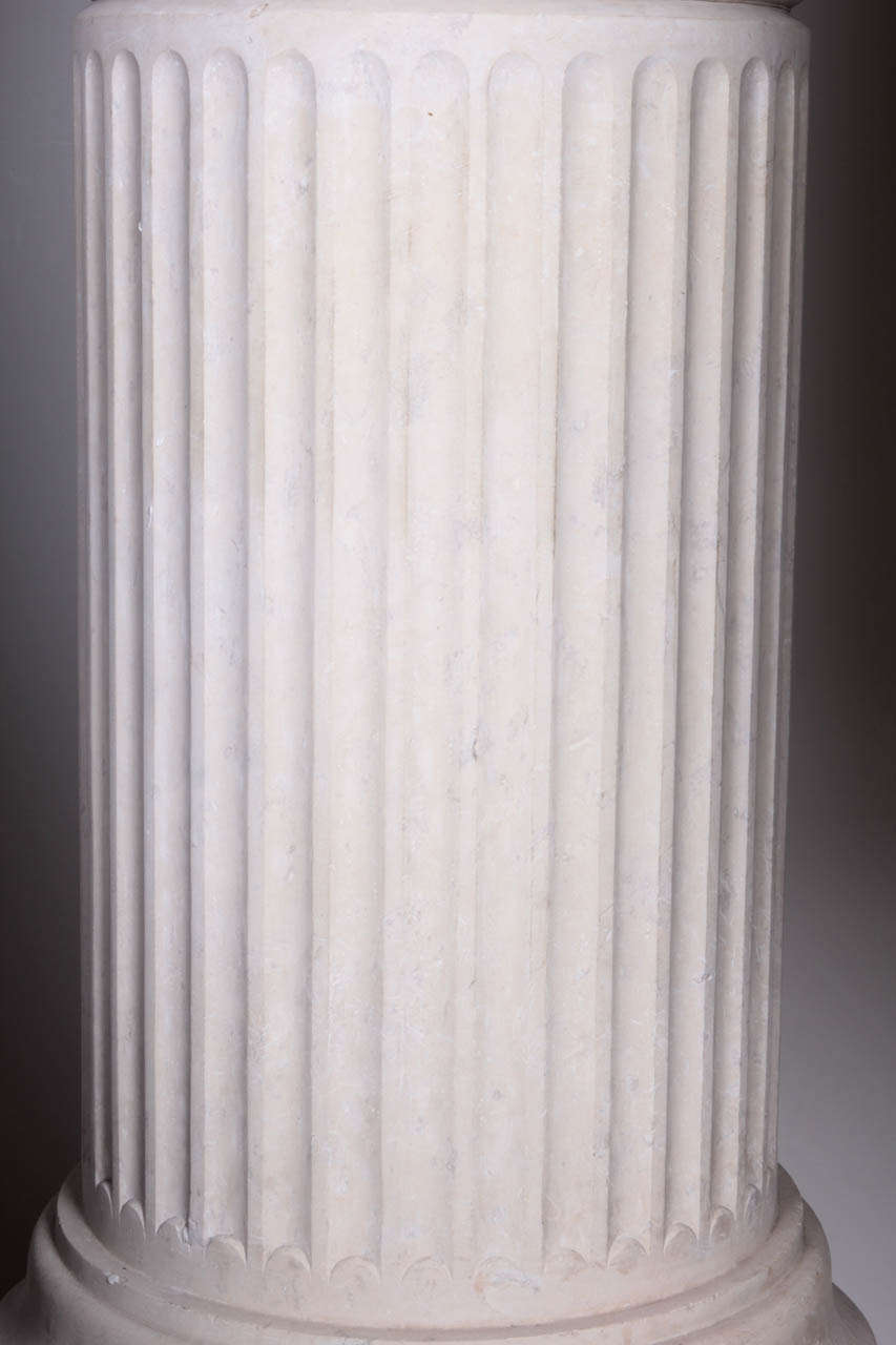 French Marble Pedestal For Sale 1