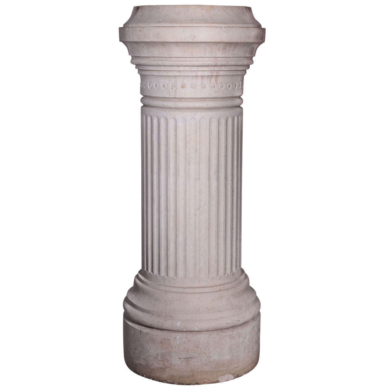 French Marble Pedestal For Sale