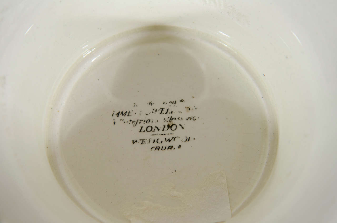 dating wedgwood creamware Porcelain can be white, grey or creamy and it is strong, delicate and usually translucent maybe some of you have ancestry in the campus martius area and can identify.