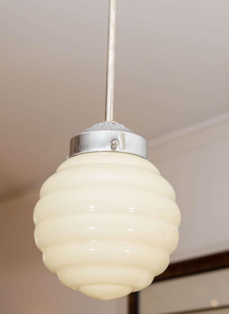 Swedish Ivory Mid-Century Modern Light Fixtures For Sale