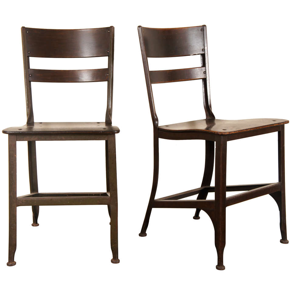 Pair Toledo Chairs At 1stdibs