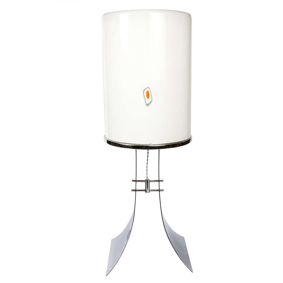 Huge 1960s Murano Glass Table Lamp