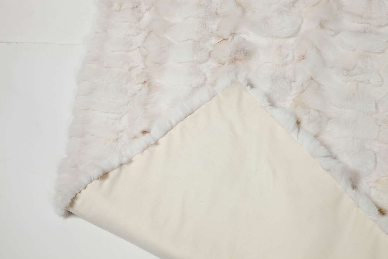 Other Throw, White Fox Fur For Sale
