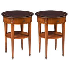 Pair of Tables by Baptistin Spade