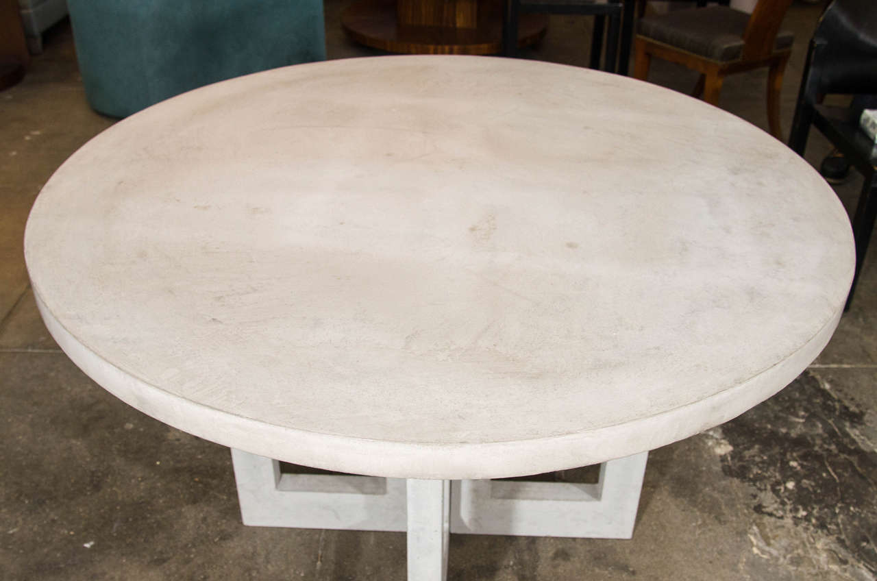 Dalton Concrete Dining Table At 1stdibs