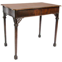 George II Mahogany Centre Table