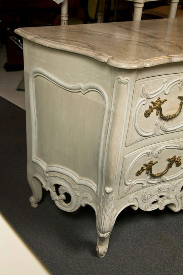 French Regency Style Commode by Maison Jansen For Sale 2