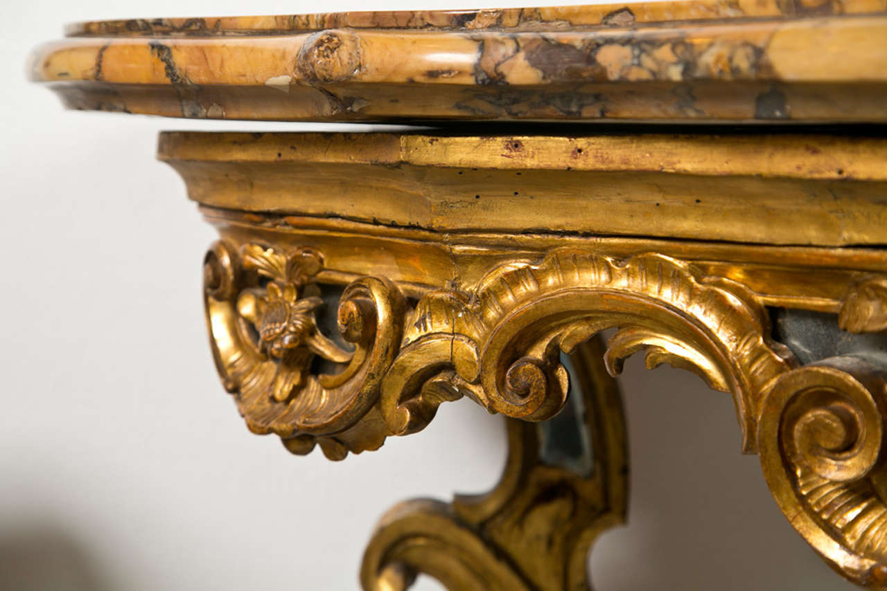 Italian 18th. Century Console Table 3