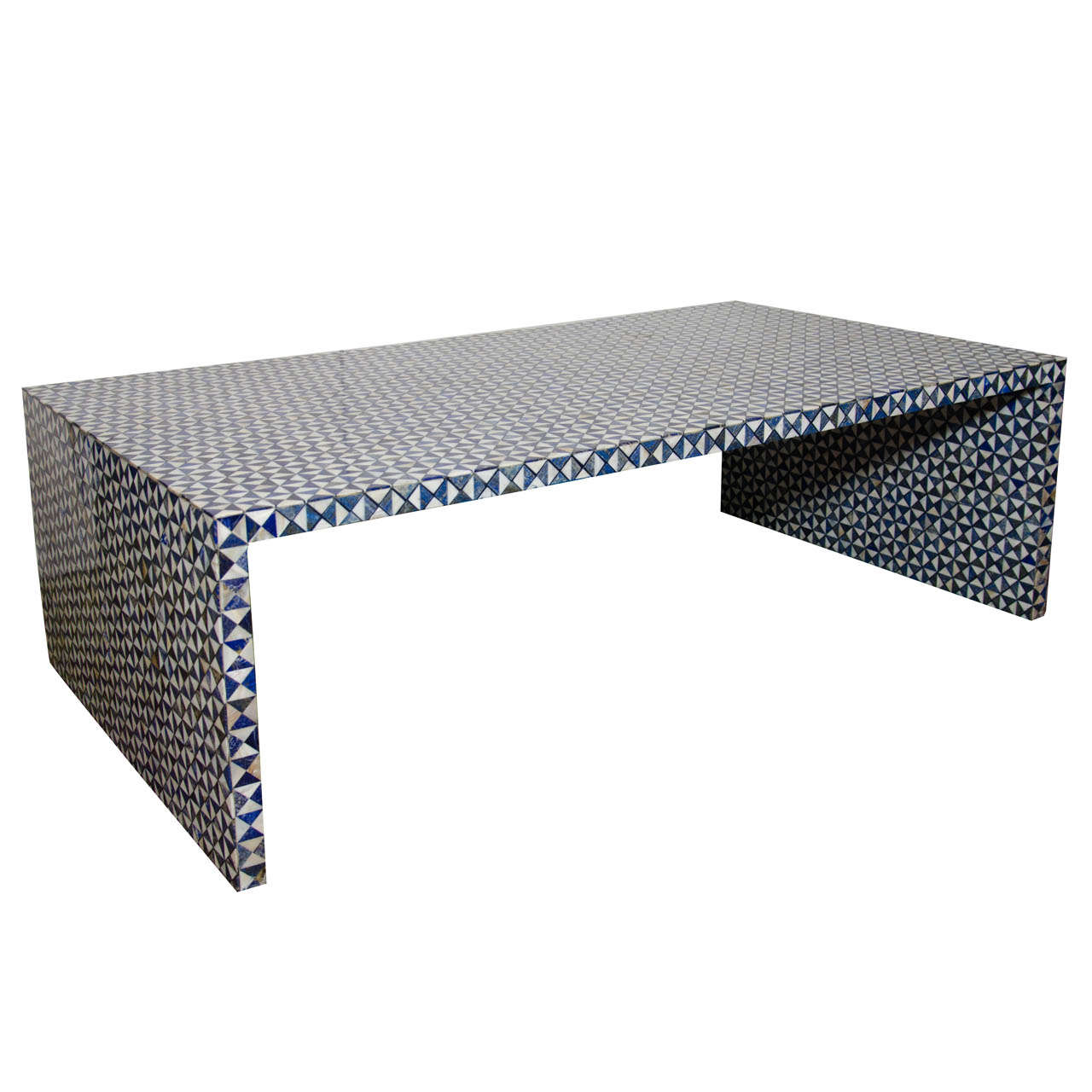 Coffee table home collections furniture tables bedford coffee table - Indian Lapis Lazuli Low Table At 1stdibs