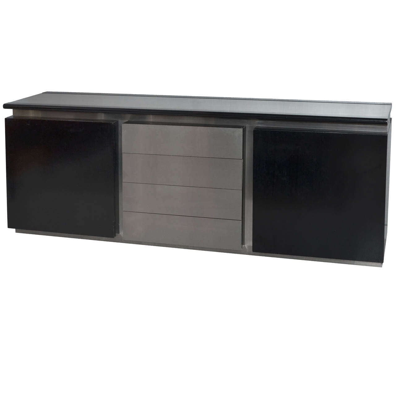 1970s enfilade buffet by acerbis at 1stdibs. Black Bedroom Furniture Sets. Home Design Ideas