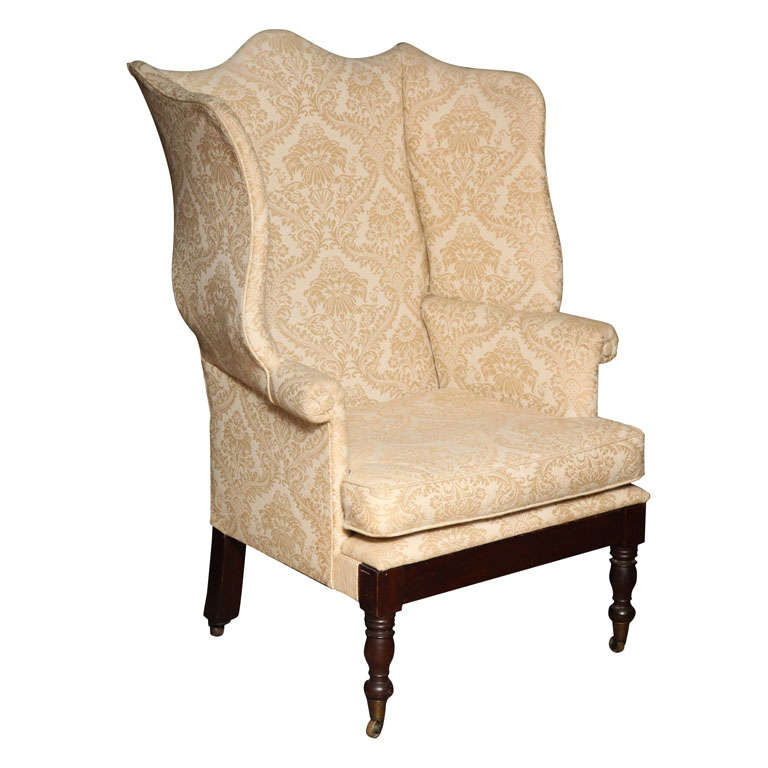 American Federal Wing Chair For Sale  sc 1 st  1stDibs & American Federal Wing Chair at 1stdibs