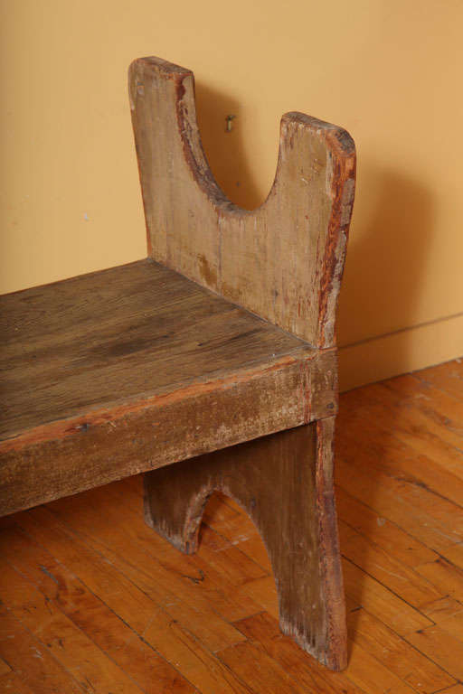 American Hutch/Chair Table. For Sale 2
