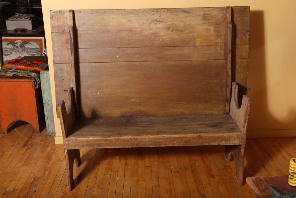 American Hutch/Chair Table. For Sale 5