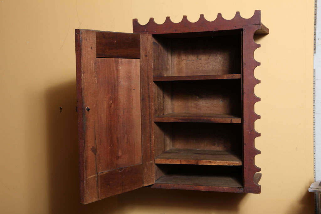 19th Century Wall Cupboard. For Sale