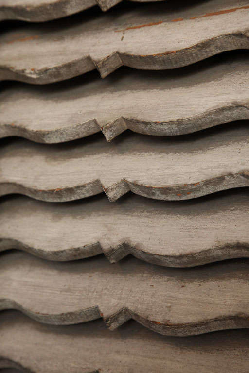 Architectural Wood Vent. For Sale 1