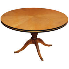 19th Century Sycamore Supper Table