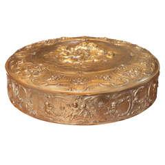 19th Century Bronze Dore Box