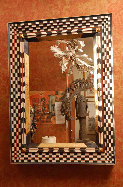 Folk Art Mirror By Don Lewis For Sale At 1stdibs