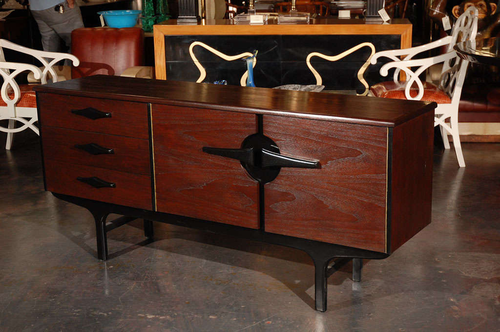 Modernist Credenza /Buffet For Sale 4