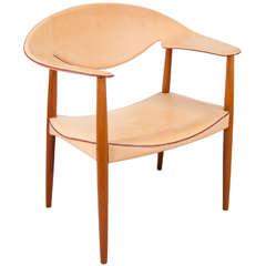 "Scandinavian Modern ""Metropolitan"" Chair by Ejner Larsen & Aksel Bender Madsen"