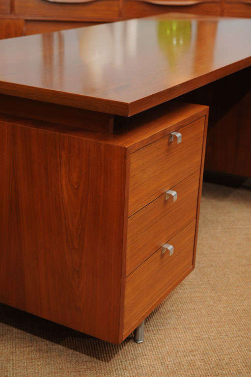 Mid-20th Century George Nelson Executive Desk