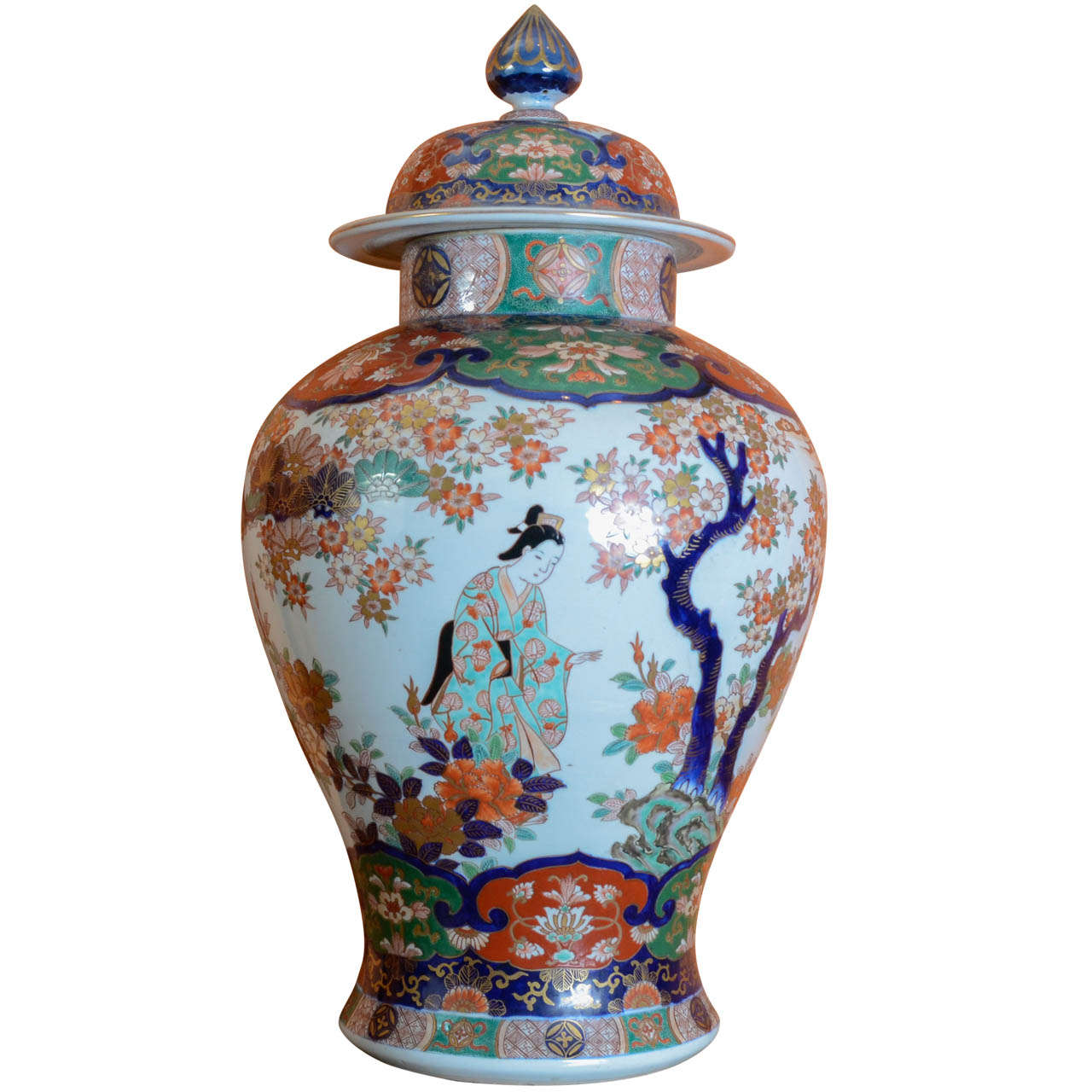 A Large Japanese Imari Vase 19th Century At 1stdibs